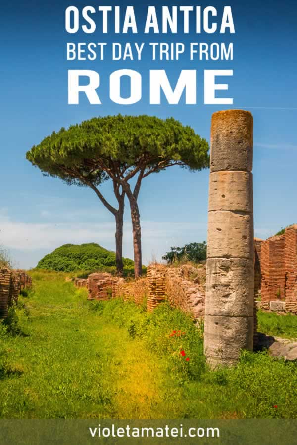 Ostia Antica detaield visiting guide and a great idea of a day trip from Rome