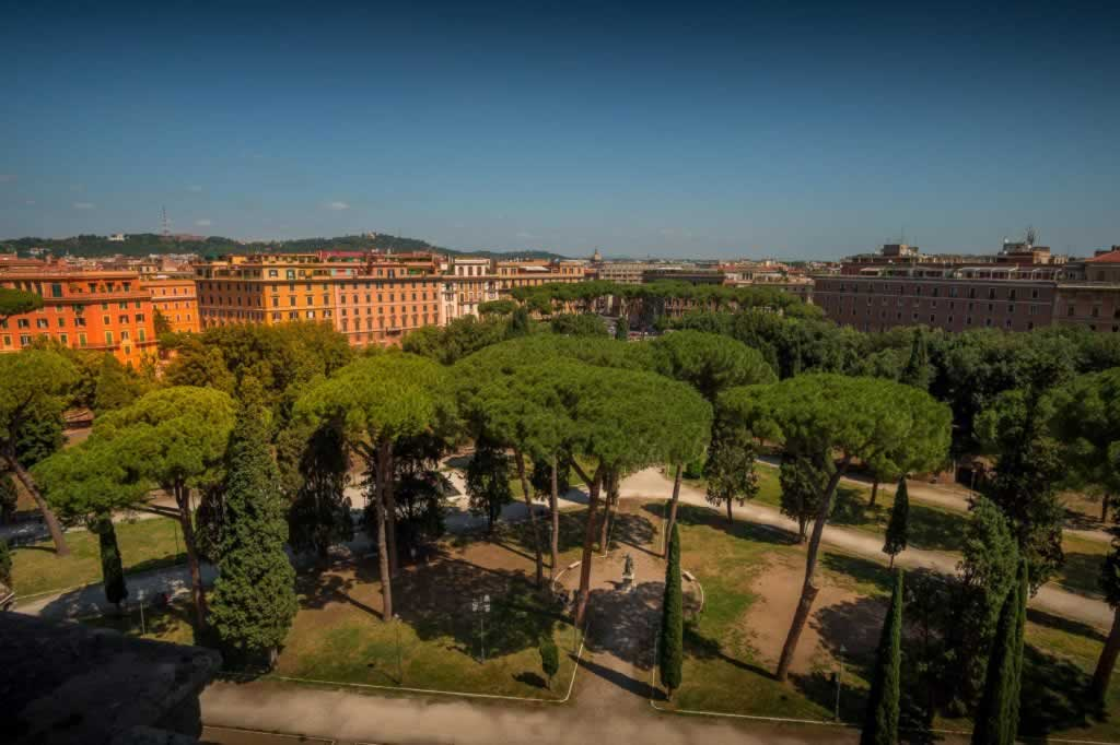 Rome view from Castel Sant' Angelo