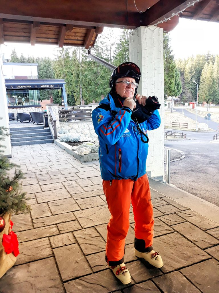 Aron Borbath, Ski Instructor Poiana Brasov, Romania
