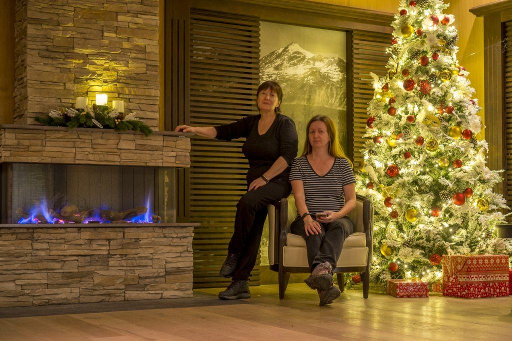 Christmas Decor in Ana Hotels Sport, Romania