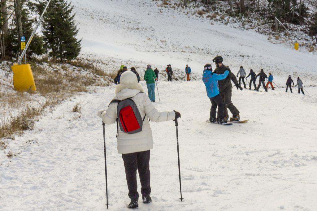 Snowboard lessons in Romania