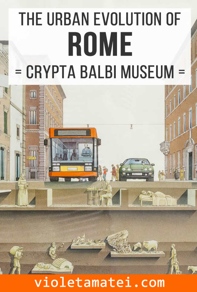 How to visit the Crypta Balbi museum in Rome to understand the urban evolution of the city