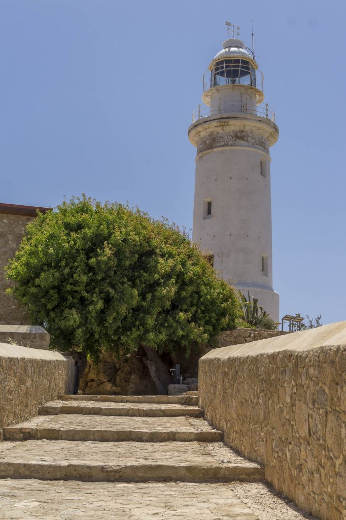 The lighthouse in Paphos archeology park