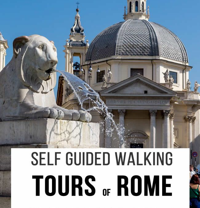 Rome walking tours self guided. Visit the Jewish Ghetto, Trastevere, Teatro di Marcello and many other places in the old Rome