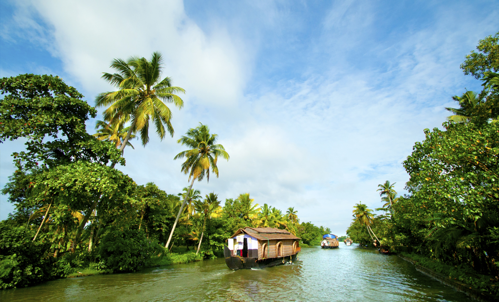 Alleppey, one of the best places to visit in Kerala